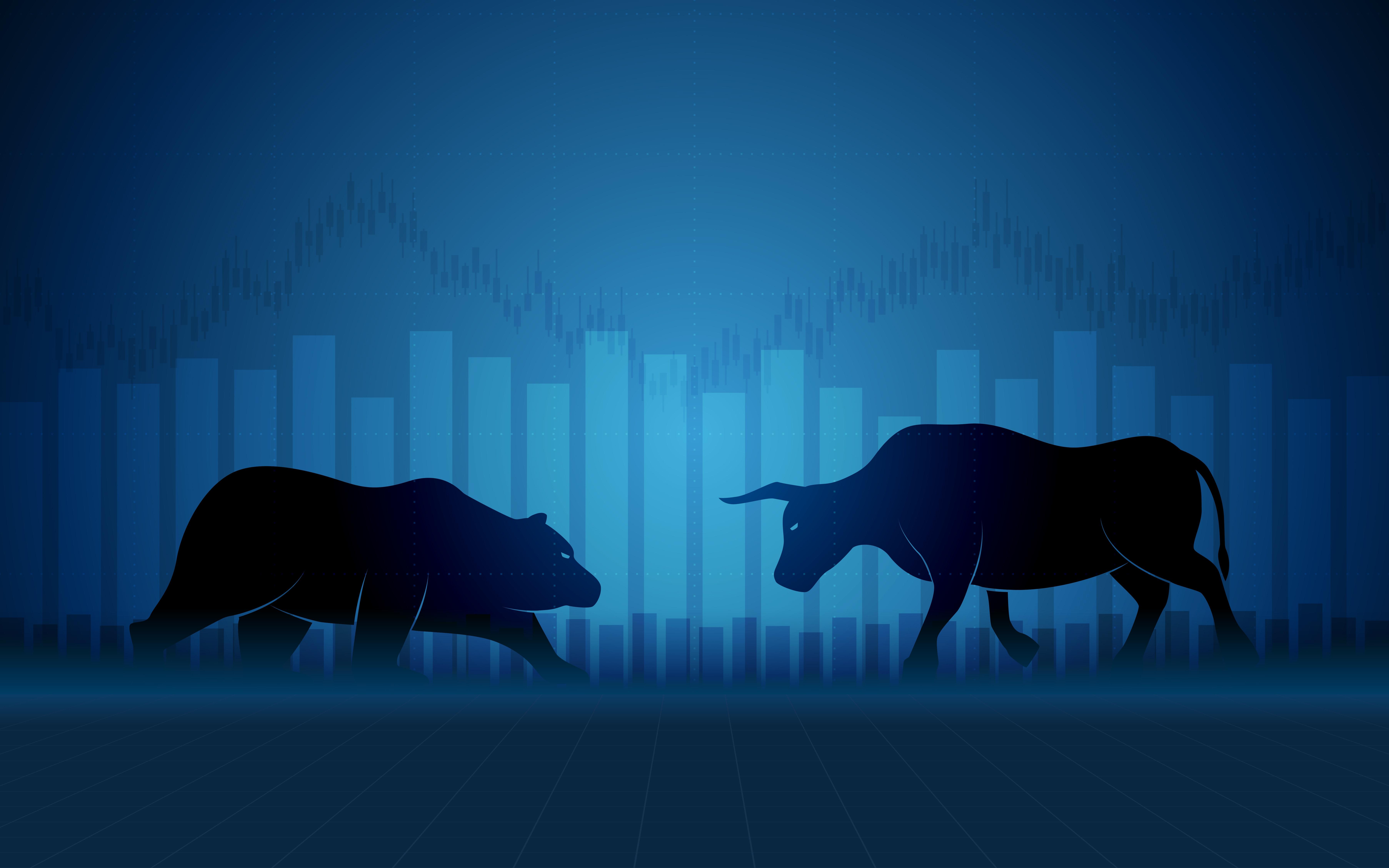 мотиваторы картинки бык и медведь этом основные